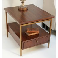 Mitchell Gold Van Dyke Side Table
