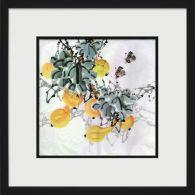 Asian Botanical 6 26W x 26H