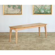 Modern Bamboo Bench