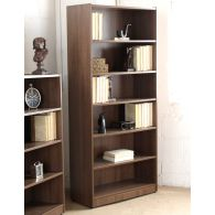 Bookcase with 4 Adjustable Shelves