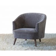 Coralie Chair in Gray