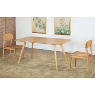 Modern Bamboo Dining Table
