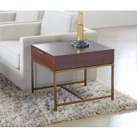 Mitchell Gold Reeve Drawer Side Table