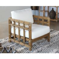 South Seas Square Framed Rattan Lounge Chair
