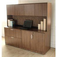Walnut Office Credenza