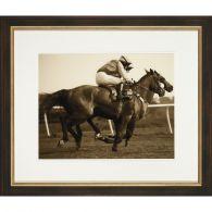 Sepia Jockeys I 28W x 24H