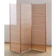 Modern Bamboo Slat Screen
