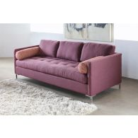 Zula Sofa in Burgundy