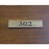 Door Tag Number 302