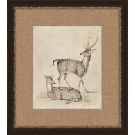 Antique Deer 17W x 19H