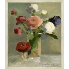 A Bouquet Of Ranunculus  21.75W X 25.75