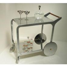Cast Aluminum Bar Cart