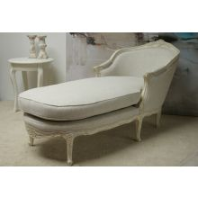 Louis Chaise in Antique White