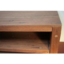 Natural Rough-Hewn Plasma TV Console