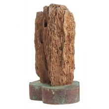 Small Petrified Wood Sculpture - Cleared Décor
