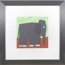 Elephant and Monkey Series (Set of 2) 24W x 24H