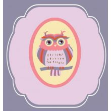 Owls Series III (Set of 4) 15W x 15H