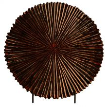 Luster Bark Charger w Stand - Cleared Décor