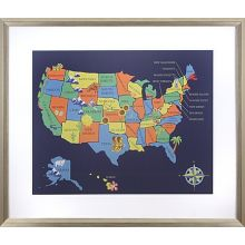 US Map 29W x 34H