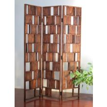 Vintage Louver Wood Screen
