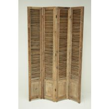 Reclaimed Bleached Pine Screen