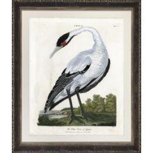 White Crane 33W x 39H