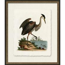 Medium Standing Heron 22W x 26H