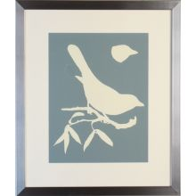Bird Silhouette 22W x 26H