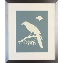 Bird Silhouette I 22W x 26H