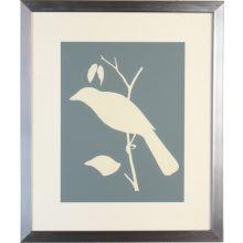 Bird Silhouette III 22W x 26H