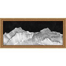 Horizontal Peaks 3 26W X 12H