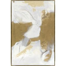 Burden of Peace 36W x 54H GOLD FRAME