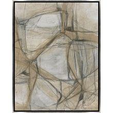 Le Lacis Triptych III 20W x 26H
