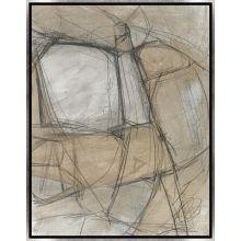 Le Lacis Triptych II 20W x 26H
