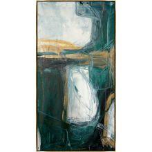Bloquer Green, Blue, Gold I 32W x 62H