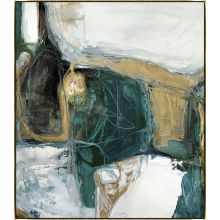 Bloquer Green, Blue, Gold II 54W x 62H