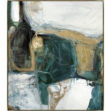 Bloquer Green, Blue, Gold II 54W x 62H