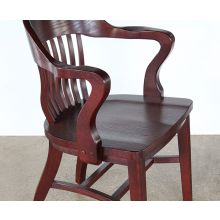 Bank of England Oak Arm Chair
