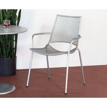 Aluminum Mesh Modern Bistro Chair