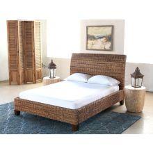 Woven Grass Queen Bed