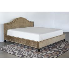 King Bed in Rome Pecan