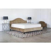 King Bed in Rome Pecan