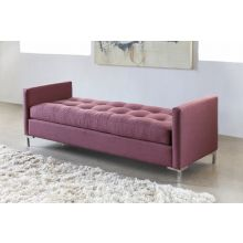 Zula Bench in Burgundy