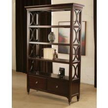 Cosmopolitan Open Bookcase