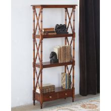 Solid Walnut Etagere
