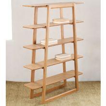 Modern Bamboo Bookcase