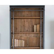 Reclaimed Pine Library Bookcase