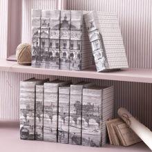 Set of 6 Vive Paris Books - Cleared Décor