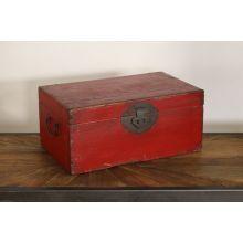 Antique Wood Document Box