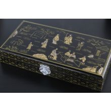 Chinese Wooden Document Box